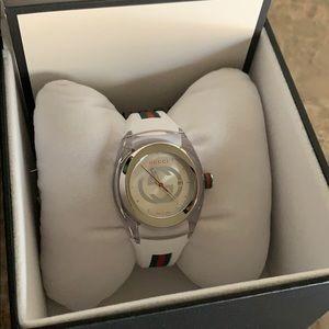 Unisex Sync Rubber Strap Sport Watch, 36mm